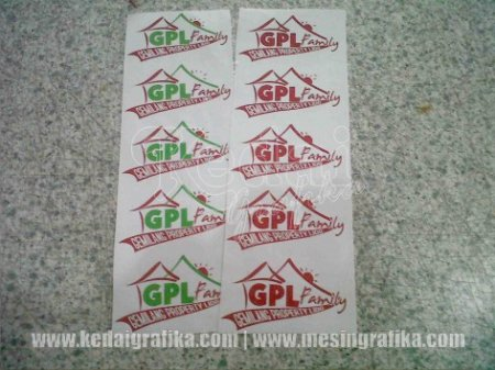 Cetak Cutting Sticker