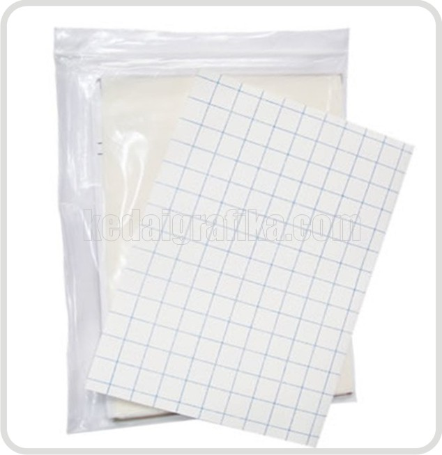 Water Transfer Paper (Decal Paper White) A4