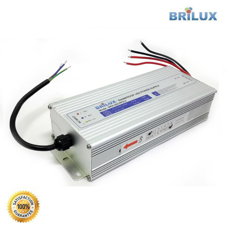 Power Supply Rainproof 250W 20.8A 12V (Out Door)